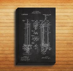CANVAS - Vacuum Cleaner Patent, Vacuum Cleaner Poster, Vacuum Cleaner Blueprint,  Vacuum Cleaner Print, Vacuum Cleaner Art, Vacuum Decor by STANLEYprintHOUSE  34.99 USD  We use a specially manufactured cotton blend canvas for archival printing, and high end printers to produce a stunning quality canvas that's made to last.  The printing technology used for the canvas is eco-solvent.  Our art is guaranteed to turn heads and will make a great affordab ..  https://www.etsy.com/ca/list..