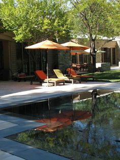 Infinity edge and dark border    Modern Pools Design, Pictures, Remodel, Decor and Ideas - page 12