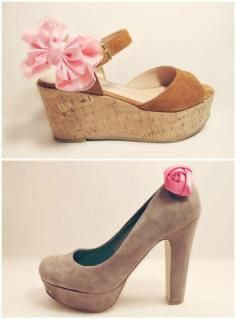 DIY Tutorial Shoe Clips / DIY Shoe Clips - Bead&Cord