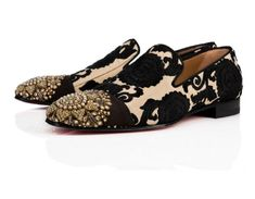 We're Here for Christian Louboutin x Sabyasachi Best Shoes For Men, Shoes Men, Men Dress, Dress Shoes, Indian Shoes, Men's Wedding Shoes, Groom Shoes, Stylish Mens Outfits, Shoe Art