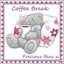 Coffee break. .. Tatty Teddy ♡