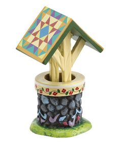 Another great find on #zulily! Jim Shore Village The Wishing Well by Jim Shore #zulilyfinds