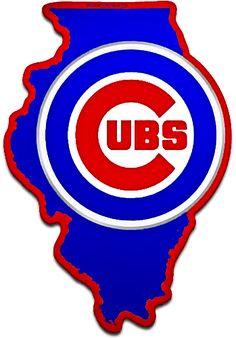 Chicago Cubs Fans, Chicago Cubs Baseball, Cubs Cards, Baseball Tattoos, Bear Cubs, Bears, Cubs Team, Go Cubs Go, Cricut Vinyl