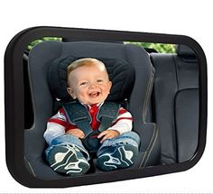 Sonilove Baby Car Mirror at Automotive Parts and Accessories - safety tested parent approved as parents ourselves we know safety is a top priority sonilove baby mirror features a shatter proof safety which has been crash tested and certified to provide p Rear Facing Car Seat, Back Seat, Baby Baby, Best Golf Cart, Baby Car Mirror, Car Seat Protector, Convex Mirror, Mirrors, Car Seat Accessories
