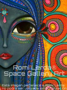Romina Lerda - Google Search Dot Painting, Painting & Drawing, Relaxing Art, Happy Paintings, Drawing For Kids, Children Drawing, Art Children, Portrait Illustration, Art Plastique