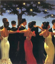 Walzers - Jack Vettriano  I liked his work, have a few of his copies in my family room.