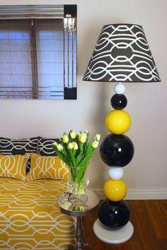 Pisząo nas w: Mieszkaniu z Pomysłem-->>Lampa Doll Ball, fot.: Ornali