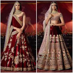 Fashion Report : Sabyasachi's regal wedding collection 'Firdaus' Fashion Report : Sabyasachi's regal wedding collection 'Firdaus' Designer Bridal Lehenga, Indian Bridal Lehenga, Indian Bridal Outfits, Indian Bridal Fashion, Indian Bridal Wear, Indian Designer Outfits, Pakistani Bridal, Indian Dresses, Bridal Dresses