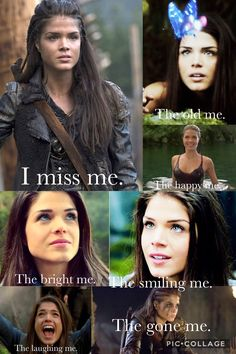 Yeah now she's the blood queen don't get me wrong I'll love Octavia forever and ever, but she's scaring me a little XD The 100 Cast, The 100 Show, It Cast, Lincoln And Octavia, The 100 Quotes, The 100 Characters, 100 Memes, Duffer Brothers, Marie Avgeropoulos