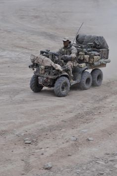 ATV in Southern Afghanistan