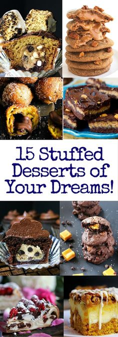 15 Stuffed Desserts of your Dreams