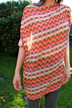 Fashion DIY: Make a Tunic, all seasons appropriate. change fabrics.  Use large skirts and wollen dresses for fabrics.