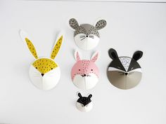 DIY animal paper masks by La maison de Loulou-8