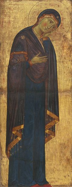 File:Master of the Blue Crucifixes or Master of the Franciscan Crucifixes. The Mourning Madonna. c.1272. NGA, Washington1.jpg