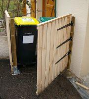 les 62 meilleures images du tableau cache poubelle sur pinterest abri de jardin abris. Black Bedroom Furniture Sets. Home Design Ideas