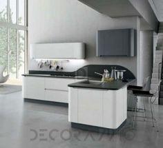 Плавные формы фасадов | STOSA Cucine - Bring | Pinterest