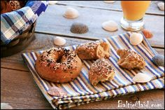 Homemade Whole Grain Bagels : Baltic Maid