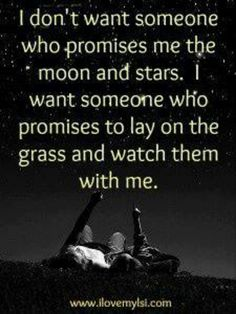 So true, give me you...its all i want...thanks for tonight... The stars were out....but wasnt really watching them... lol txt me if waiting and want to chat xx