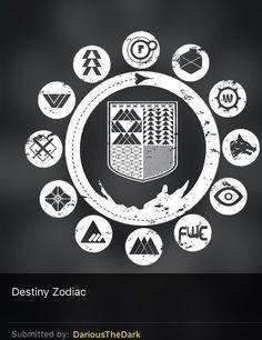 Destiny Zodiac Destiny Hunter, Love Destiny, Destiny Game, Tattoo Design Drawings, Tattoo Designs, Destiny Tattoo, Fc Rx7, Destiny Cosplay, Tattoo Character