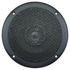 Aquavibe WR45B   Marine Waterproof 5 Dual Cone Speaker Black
