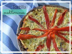 Tortilla mediterránea para empezar el día mejor | Gastroglam