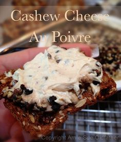 cultured cashew cheese au poivre