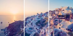 Travel through the Greek Isles with Gray Malin as he lets you in on his top Greece travel guide tips. Oh The Places You'll Go, Places To Travel, Places To Visit, Santorini Sunset, Santorini Greece, Greek Week, Greek Isles, Never Stop Dreaming, What A Wonderful World