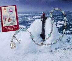 Unbreakable Stella Maris Catholic Chaplet - Patroness of Fishermen, Captains…