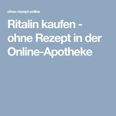Ritalin kaufen - ohne Rezept in der Online-Apotheke