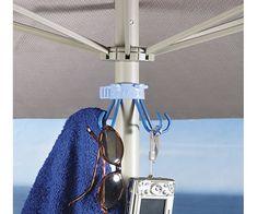 Beach Umbrella Hook & Gear Holder