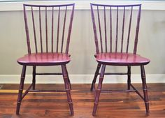 Vintage Nichols & Stone Co. Bamboo Style Chairs  by ChalksOLot