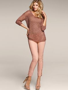 Victorias Secret Models In Skinny Jeans