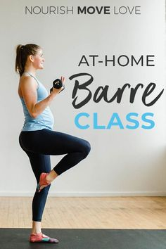 Get the studio experience at home with this FREE BARRE CLASS workout video! This low-impact, high-intensity workout uses ballet-inspired moves to build long lean muscle + burn fat! Barre Workout Video, Cardio Barre, Home Workout Videos, 20 Minute Workout, At Home Workouts, Free Workout, Exercise Videos, Leg Day Workouts, Toning Workouts