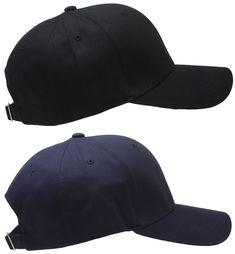 Trendy Apparel Shop XXL Oversize Solid Cotton Adjustable Sun Visor