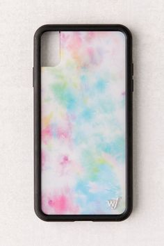 May 2020 - Wildflower UO Exclusive Pastel Tie-Dye iPhone Case Diy Iphone Case, Pretty Iphone Cases, Iphone Phone Cases, Iphone Case Covers, Free Iphone, Iphone Ringtone, Iphone Charger, Diy Tie Dye Phone Case, Sell Iphone