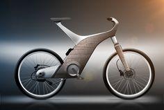 Bike ( wood / aluminium ) #GeorgeTupak