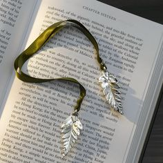 Silver Fern Leaf Bookmark $29.95 - okay so I got this for Christmas a couple of years ago, but it's still sold and is so enchanting I just had to share it