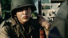 """Barry Pepper in """"Saving Private Ryan"""""""