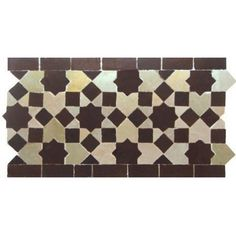 Moroccan Border Tile 22