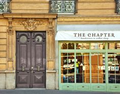 The Chapter Bookstore Coffee Shop by Alex Pabian, via Behance