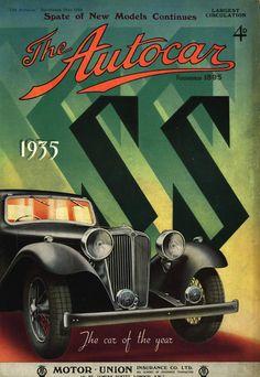 Autocar SS Jaguar Cover