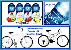 Enter to win a Dasani prize pack with a Dasani Mountain/Cruiser Bike and coupons for bottled water and flavor drops! Ends 2/13    http://chant3llo.com/dasani-get-active-get-hydrated-giveaway/