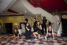 Finishing pose  Stroll Performance 2013 Delta Phi Lambda Sorority, Inc. Illinois State University Greek Life