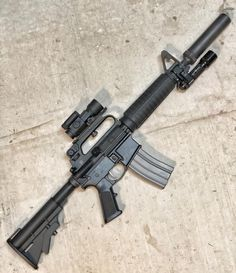 Military Weapons, Weapons Guns, Guns And Ammo, New Electronic Gadgets, Ar Rifle, Battle Rifle, Custom Guns, Cool Guns, Assault Rifle