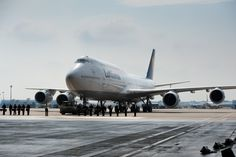Lufthansa has taken delivery of its new 'Queen of the Skies,' the Boeing 747-8 jumbo jet, click through for the full story and lots more images