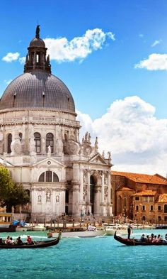always beautiful no matter what time of the day - Basilica di Santa Maria della Salute Venice, Italy