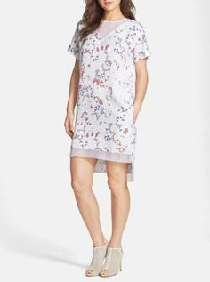 For the weekend - Print shift dress