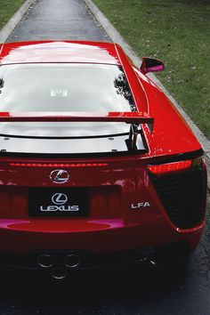 "motivationsforlife: ""Lexus LFA by TMash"""