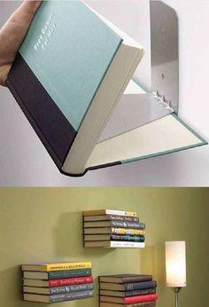 Easy bookshelves