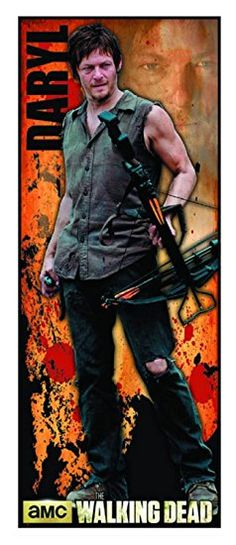 The Walking Dead Daryl Dixon 30 x 76 Door Size Poster